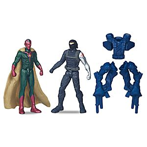 Vision vs. Winter Soldier Action Figure Set - Captain America: Civil War