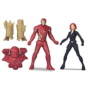 Iron Man vs. Black Widow Action Figure Set - Captain America: Civil War