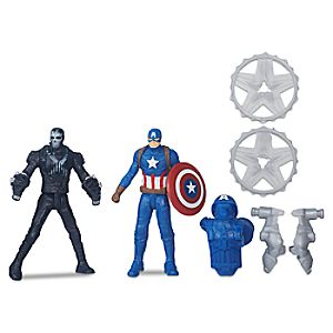 Captain America vs. Crossbones Action Figure Set - Captain America: Civil War