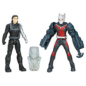 Marvels Captain America: Civil War Action Figure Set - Winter Soldier and Ant-Man