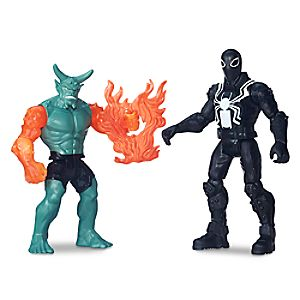 Agent Venom vs. Green Goblin Action Figure Set - Ultimate Spider-Man vs. The Sinister Six - 6