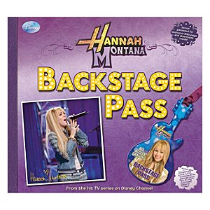 Hannah Montana Backstage Pass Book