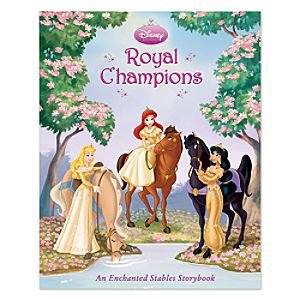 Disney Princess Royal Champions Book