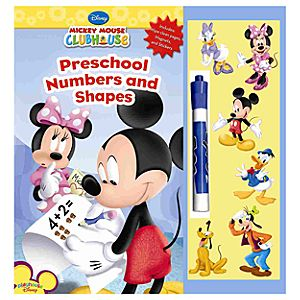 Mickey Mouse Clubhouse Preschool Numbers and Shapes Book
