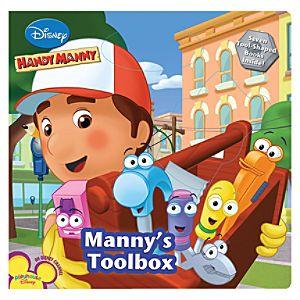 Handy Manny: Mannys Toolbox Book