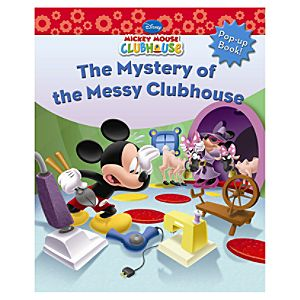 Mickey Mouse Clubhouse: The Mystery of the Messy Clubhouse Book