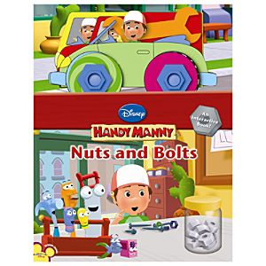 Handy Manny Nuts and Bolts Book
