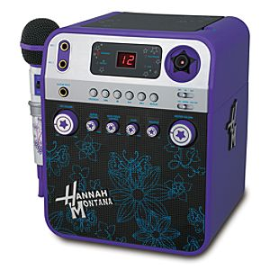 Hannah Montana Karaoke System with Video Camera