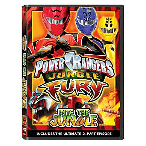 Power Rangers Jungle Fury: Into the Jungle DVD