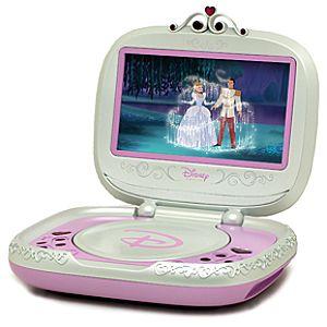Portable Disney Princess DVD Player -- 7