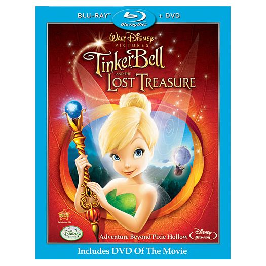 Pre-Order 2-Disc Tinker Bell And The Lost Treasure Blu-ray and DVD & Receive a FREE Backpack Clip*