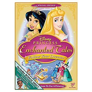 Disney Princess Enchanted Tales: Follow Your Dreams Special Edition 2-Disc DVD