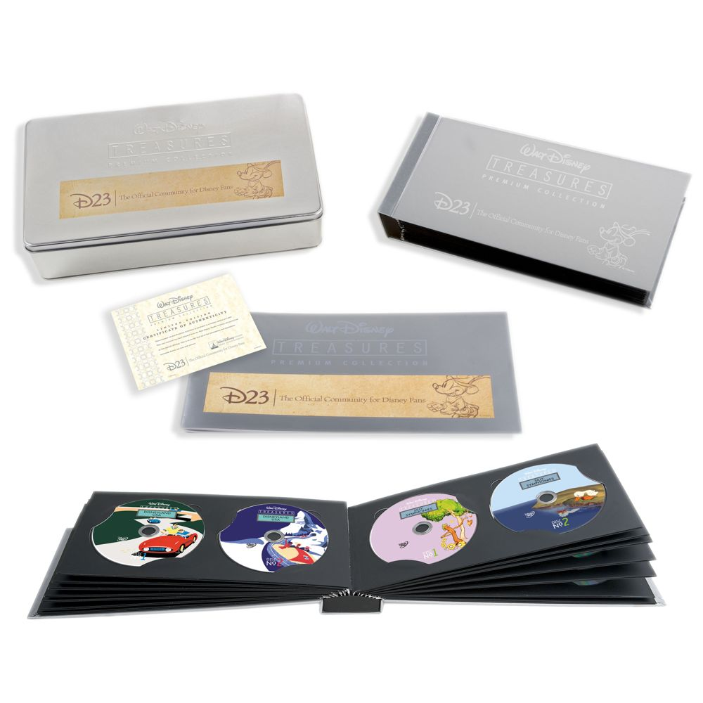 D23 Membership Exclusive Limited Edition Walt Disney Treasures DVD Set