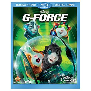 G-Force 3-Disc Blu-ray with DisneyFile* and DVD
