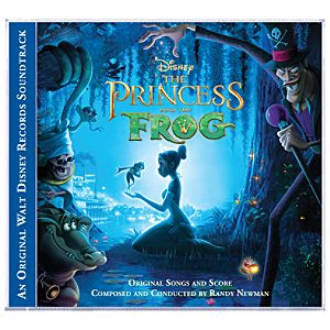 The Princess and the Frog Soundtrack CD