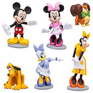 Minnies Pet Shop Minnie Mouse Figure Set -- 6-Pc.