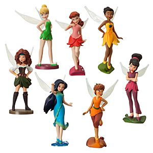 Disney Fairies Figurine Play Set - The Pirate Fairy