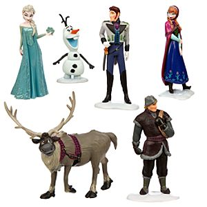 Frozen Figure Play Set
