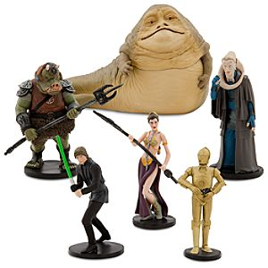 Star Wars Return of the Jedi Figure Play Set