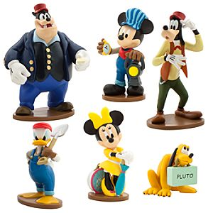 Mickey Mouse Clubhouse Train Figure Play Set