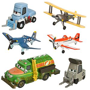 Planes Figure Play Set - Propwash Junction