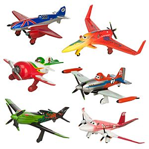 Planes Figure Play Set - Racers