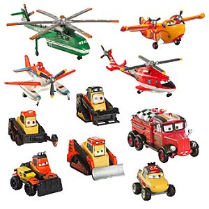 Planes: Fire & Rescue Deluxe Figure Play Set