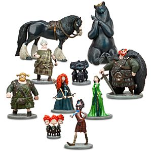 Brave Figure Deluxe Play Set