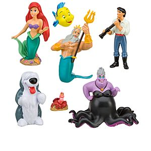 The Little Mermaid Ariel Figure Play Set -- 7-Pc.