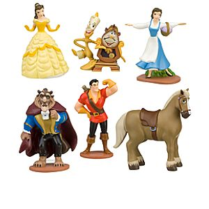 Beauty and the Beast Belle Figure Play Set -- 6-Pc.