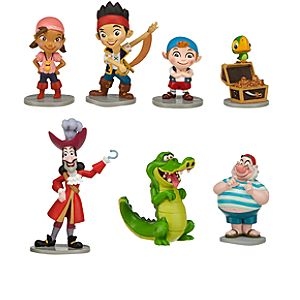 Jake and the Never Land Pirates Figure Play Set -- 7-Pc.