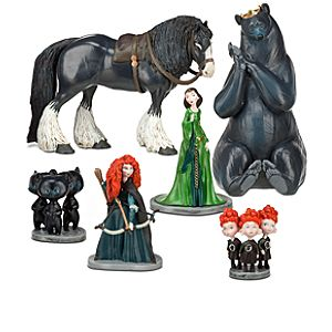 Brave Figure Play Set -- 6-Pc.