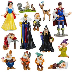 Snow White and the Seven Dwarfs Figure Deluxe Play Set