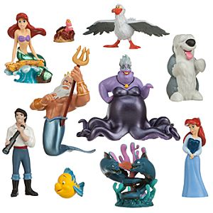 The Little Mermaid Deluxe Figure Play Set