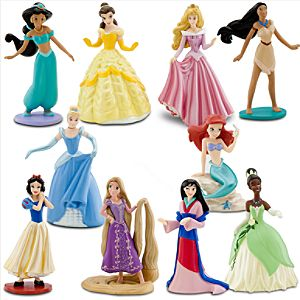 Deluxe Disney Princess Figure Play Set -- 10-Pc.