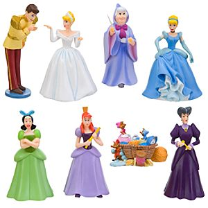 Cinderella Figure Play Set    8 Pc.