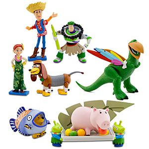 Deluxe Toy Story Hawaiian Vacation Figure Play Set -- 7-Pc.