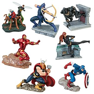 The Avengers Figure Play Set -- 7-Pc.