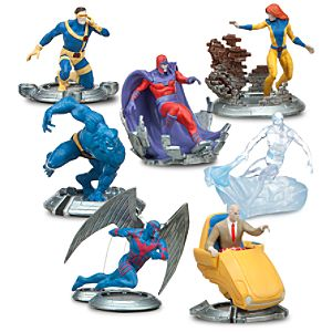 X-Men Classic Figure Play Set -- 7-Pc.