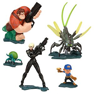 Heros Duty Figure Play Set - Wreck-It Ralph