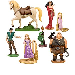Rapunzel Tangled Figure Play Set -- 7-Pc.