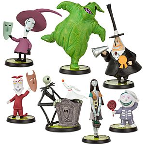 Tim Burtons The Nightmare Before Christmas Figure Play Set