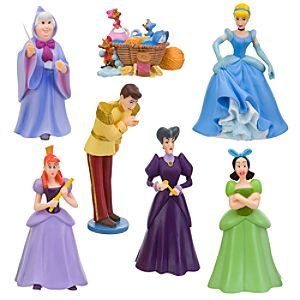 Cinderella Figure Play Set