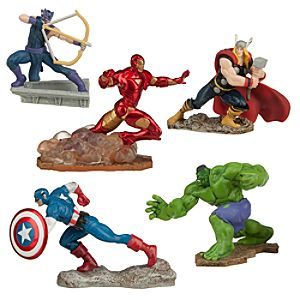 Avengers Assemble Figure Play Set
