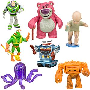 Toy Story 3 Villains Figure Play Set