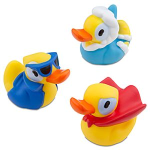 Wheres My Water? Rubber Duck Tub Toy Set -- 3-Pc.