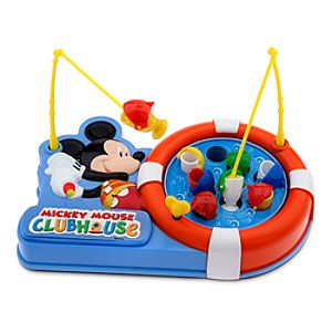 Mickey Mouse Fishing Game