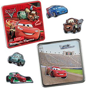 Cars 2 Magnetic Figures Set