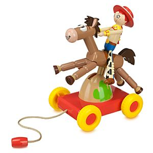 <i>Toy Story</i> Jessie and Bullseye Pull Toy