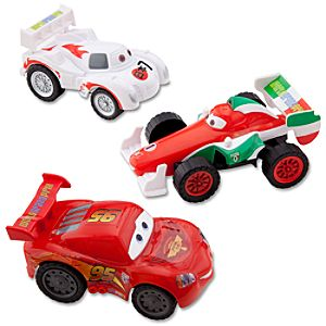 Cars 2 Racers Turbo Cars Set-- 3-Pc.